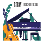 CORKY MUSIC FROM THE SOUL LOGO